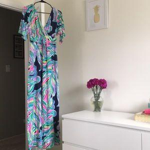 Lilly Pulitzer Parigi Maxi Dress! 🌺